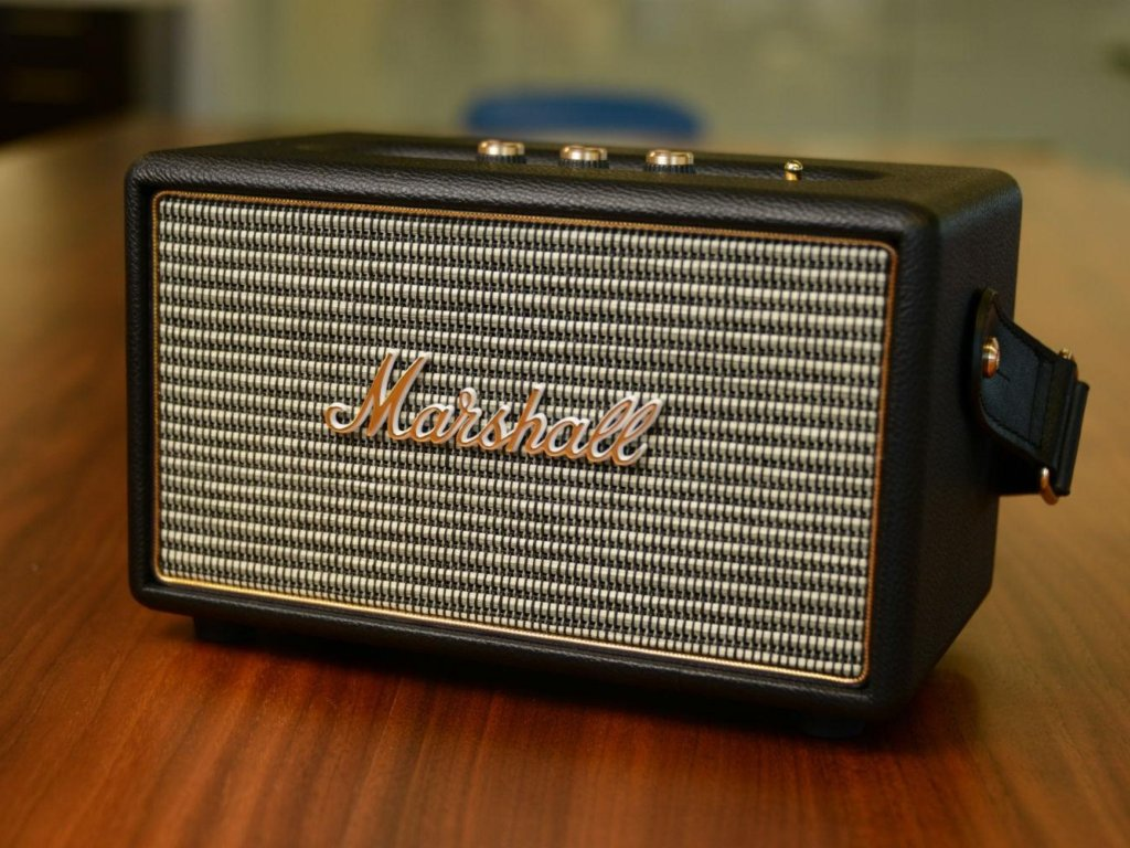 Marshall Kilburn - high-end bluetooth speakers