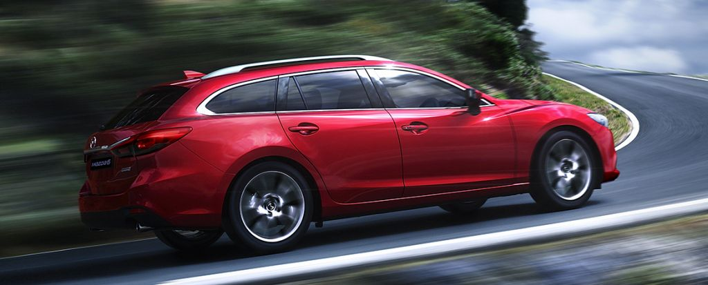 Mazda 6 wagon – sideview – 2016