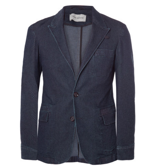 Oliver Spencer Slim-Fit Stretch-Cotton Blazer