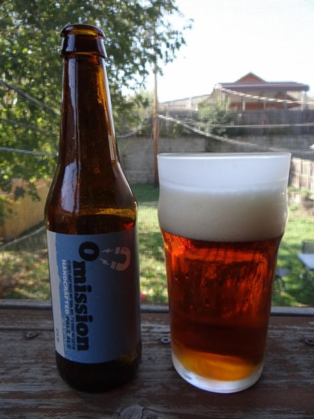 Omission Pale Ale - gluten free beer