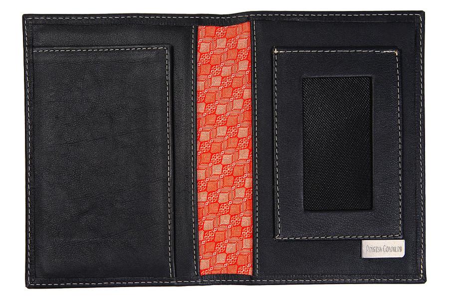Pineda Colvin Black Passport Case - minimalist wallet