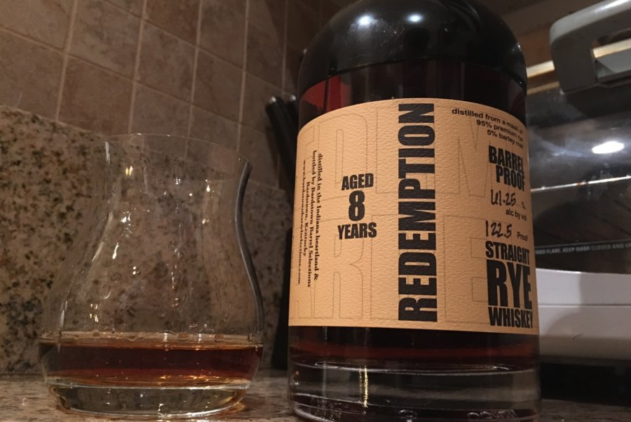 Redemption – rye whiskey
