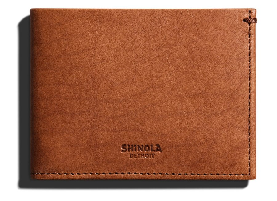 Shinola Slim Bifold Wallet