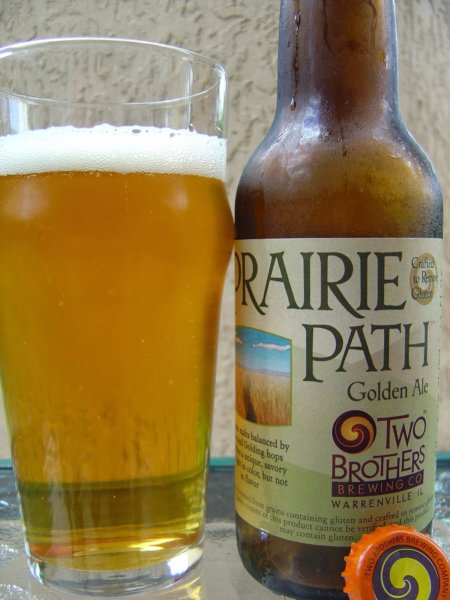 Two Brothers Prairie Path Golden Ale - gluten-free beer