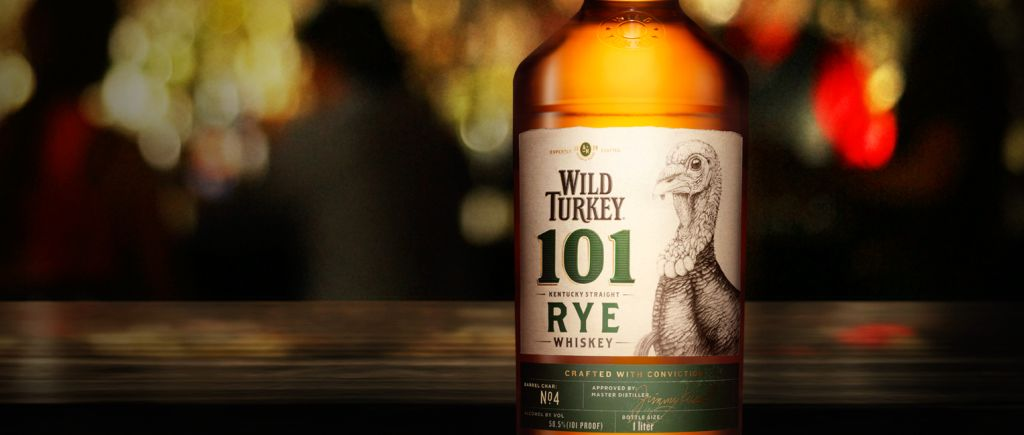 Legendary: Wild Turkey 101 Rye Whiskey