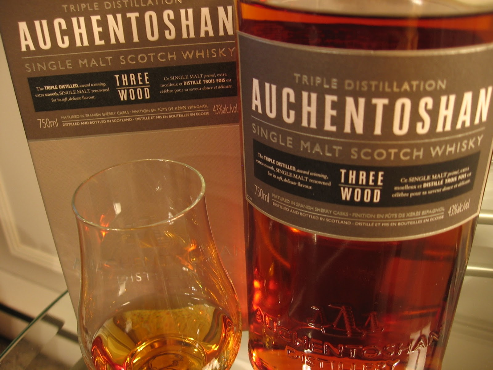 Auchentoshan Three Wood – single malt scotch