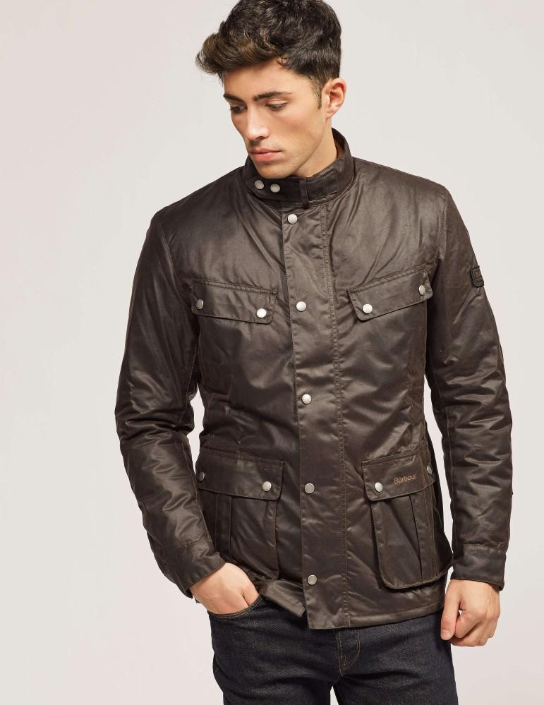 Barbour International Duke - waxed canvas jacket