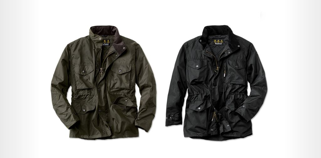 Barbour Sapper Jacket - waxed canvas jacket