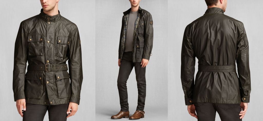 Belstaff - The Roadmaster Waxed-Cotton Jacket