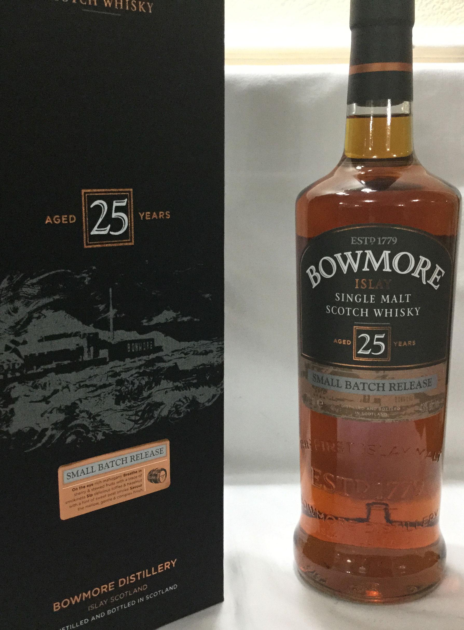 Bowmore 25 Year Old – single malt scotch