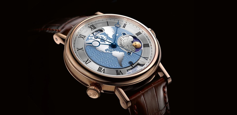 Breguet Hora Mundi 5717 - gmt watch