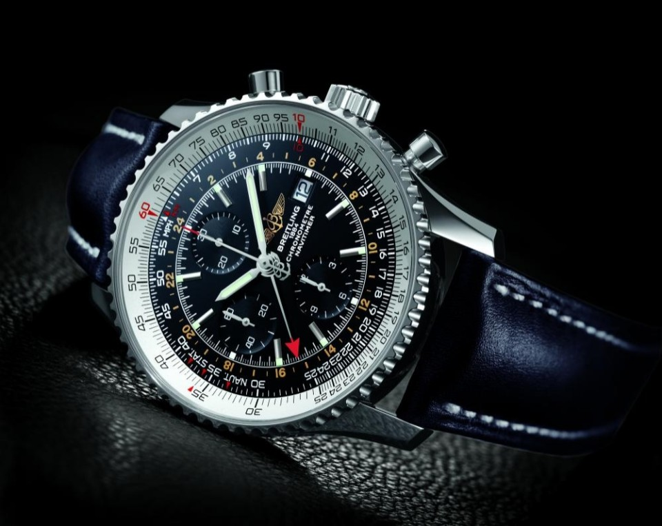 Breitling A2432212G571 Navitimer - gmt watch