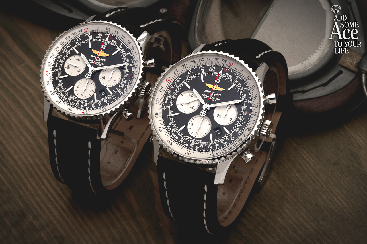 Breitling Navitimer GMT watch