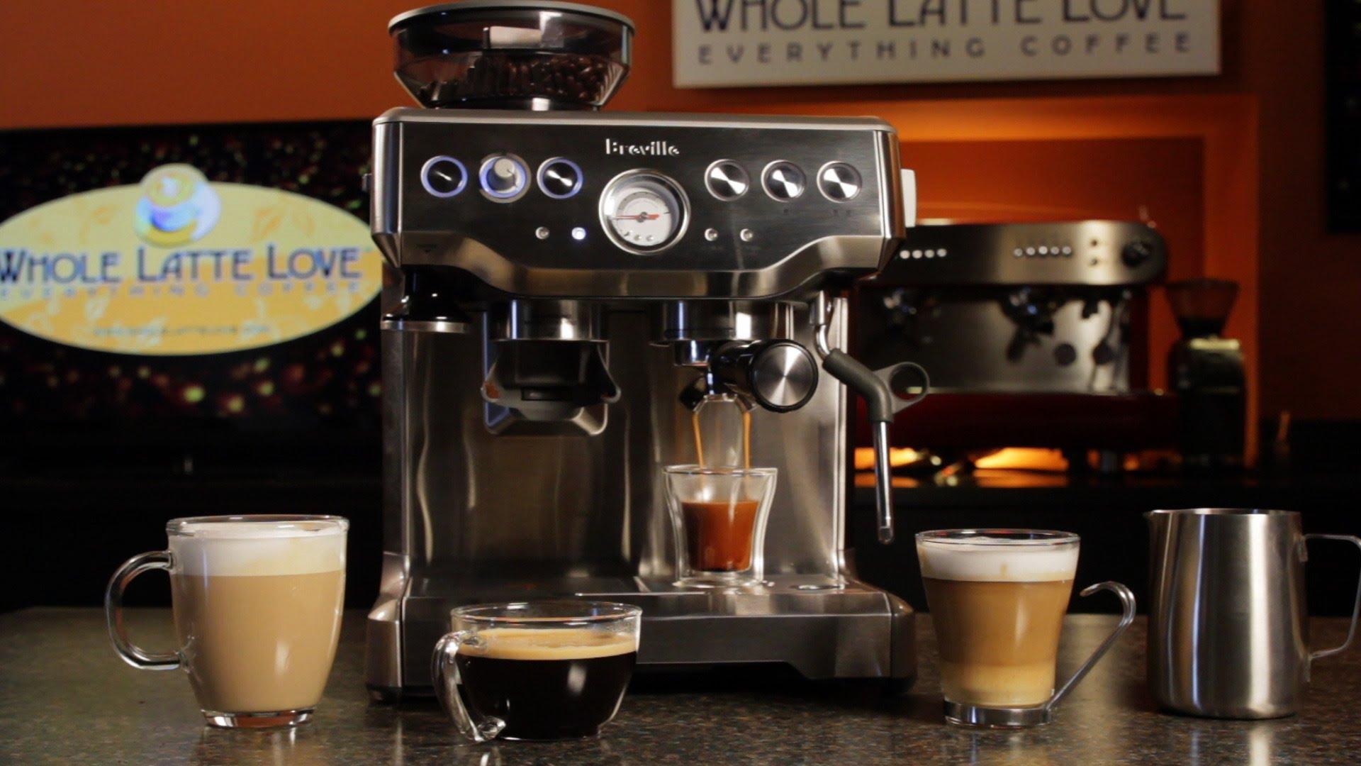 Breville BES870XL Barista Express – espresso machine