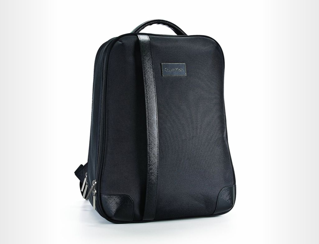 Calvin Klein Avalon 2.0 Backpack with recessed wheels