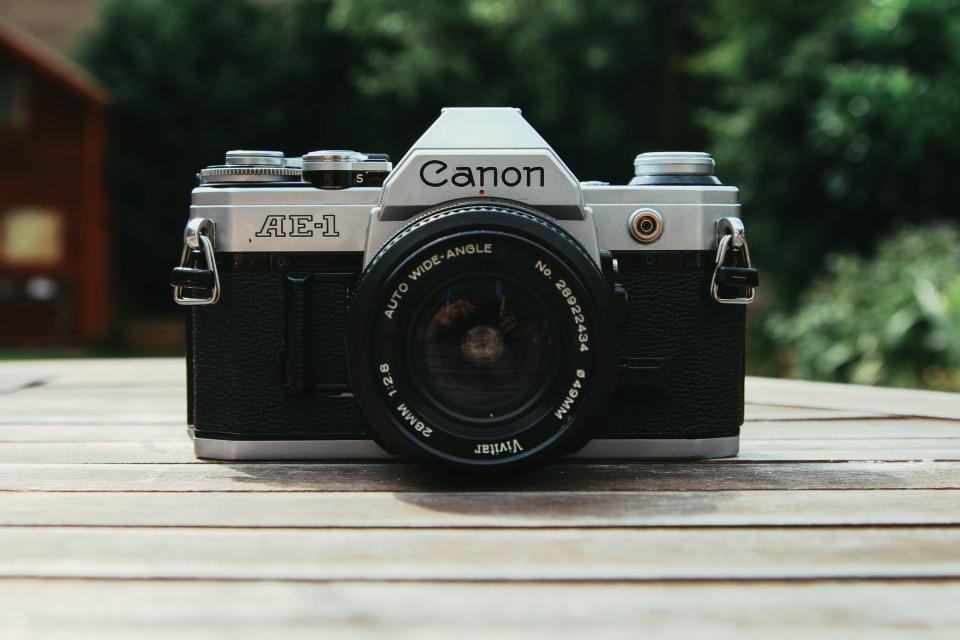 Canon AE-1 - vintage camera