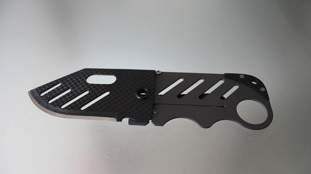 Carbon Fiber Gear Creditor – money clip