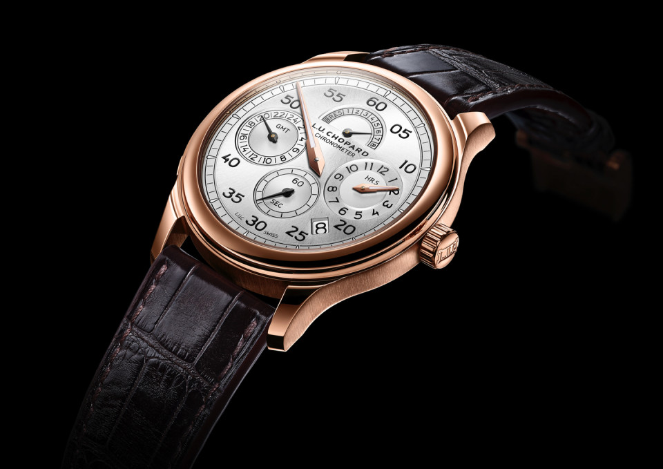 Chopard L.U.C. Regulator - gmt watch