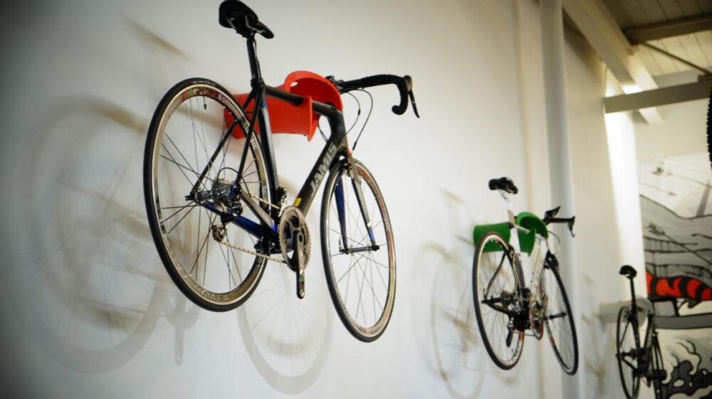 Cycloc Solo - Hanging Bikes in Garage