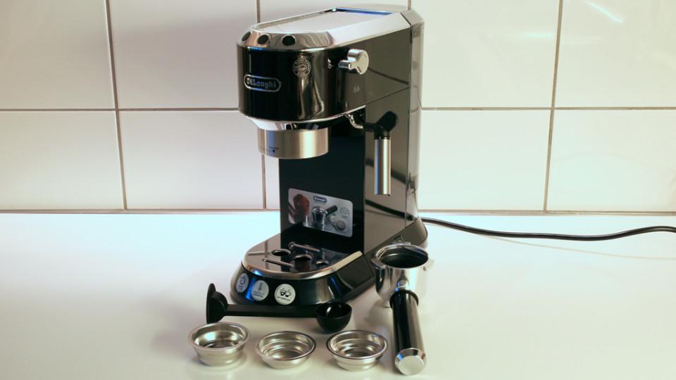 View In Gallery De Longhi Ec680 Dedica Espresso Machine