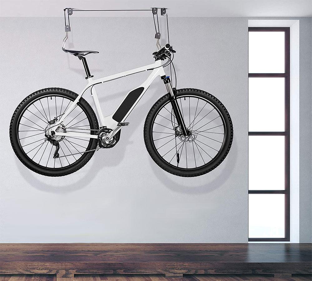 Delta Cycle | El Greco Bicycle Ceiling Bike Rack Hoist