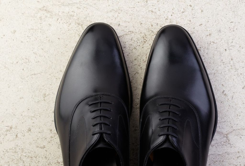 Edward Green – CURZON black calf with single leather soles