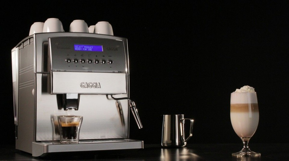 Gaggia 90500 Titanium Super Automatic - espresso machine