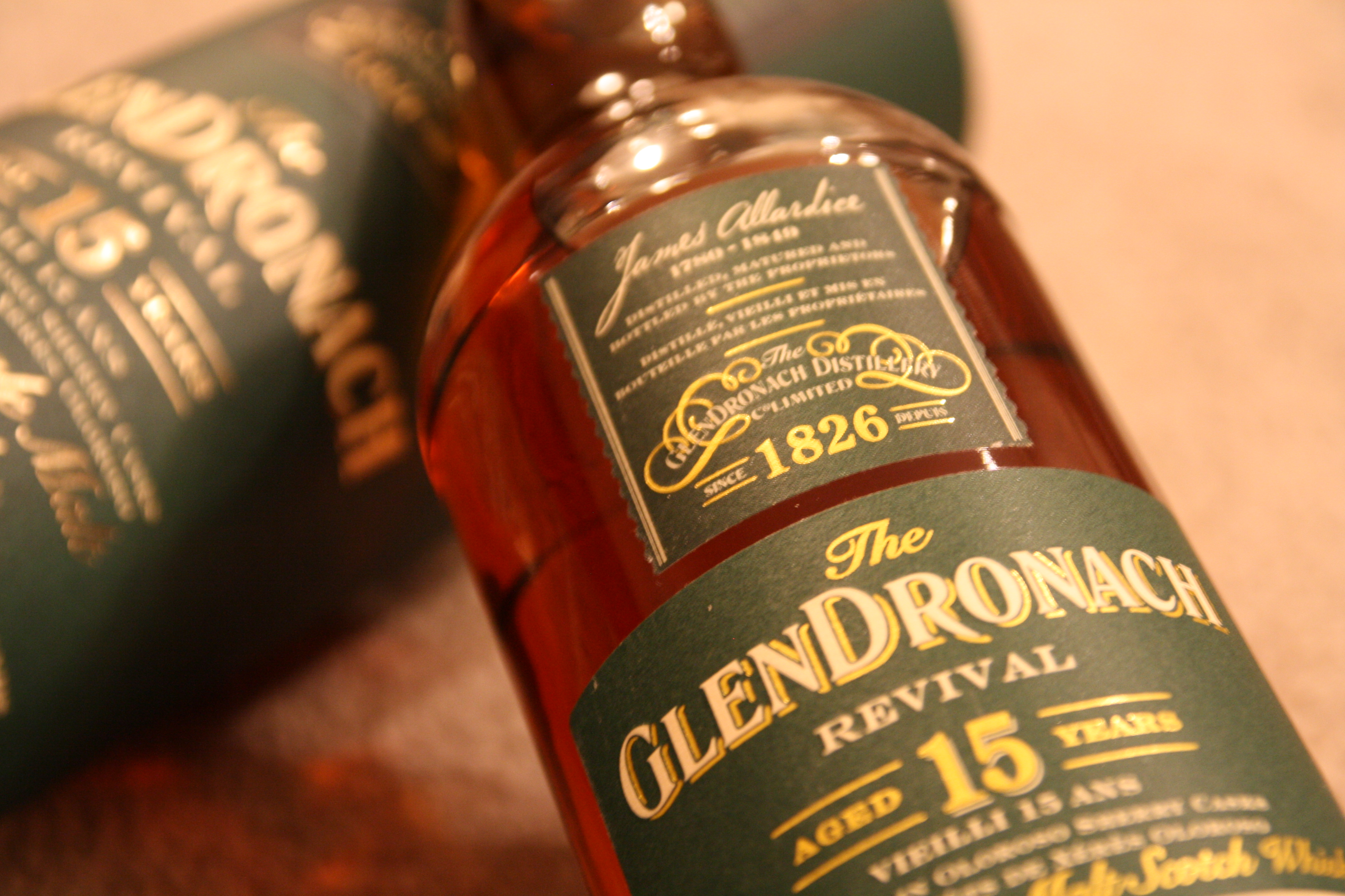 Glendronach 15 Year Revival – single malt scotch