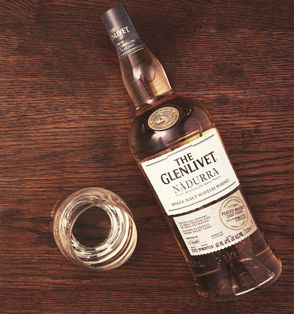 Glenlivet Nàdurra Peated – single malt scotch