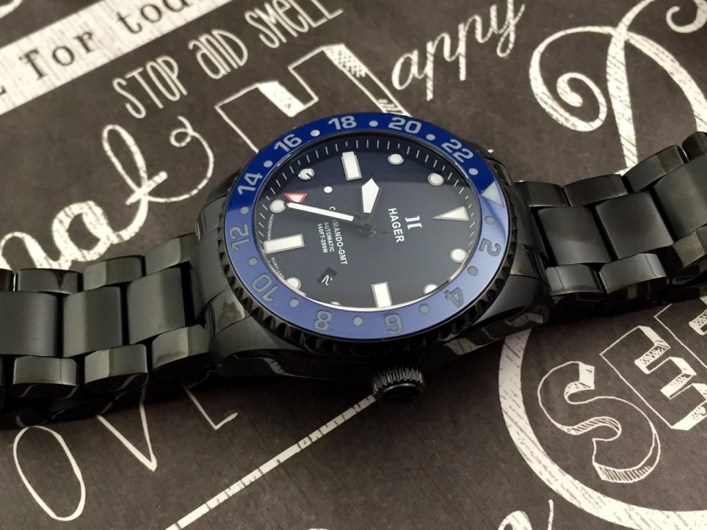 Hager GMT Traveler watch