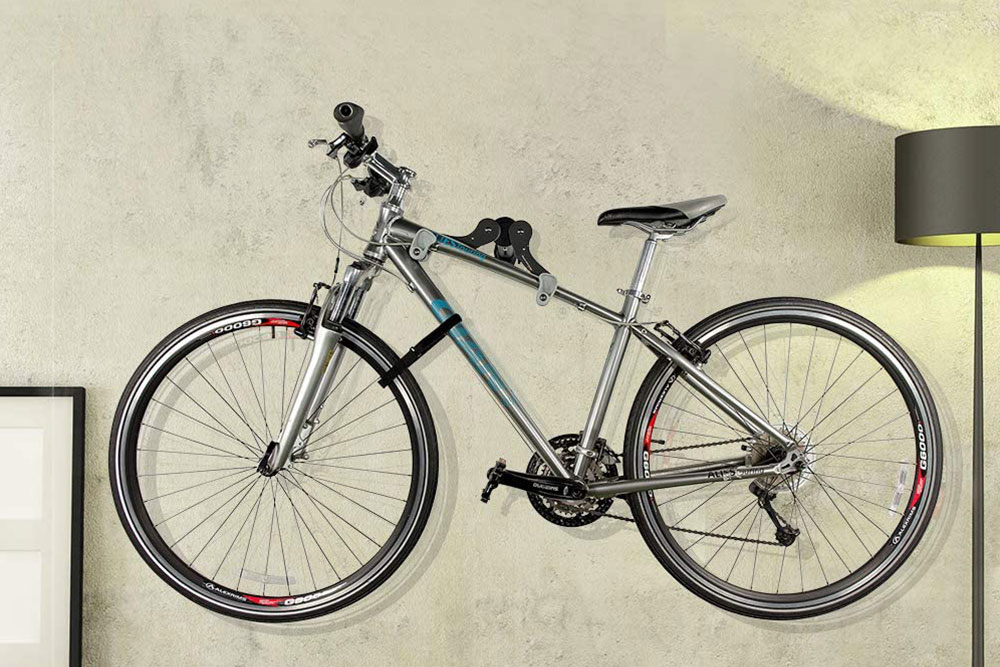 Ibera Horizontal Bicycle Bike Wall Hanger Bike Hook