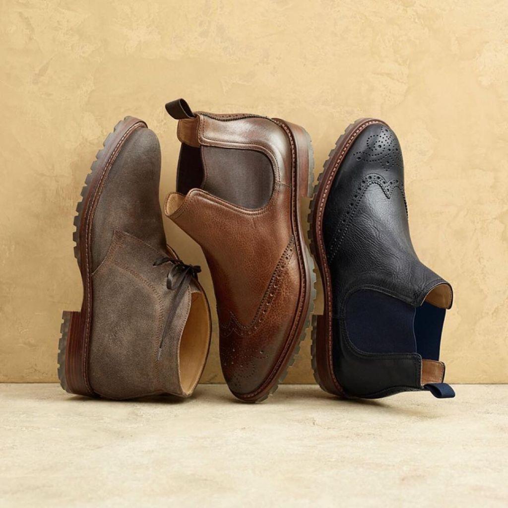 Johnston & Murphy – bespoke boots design