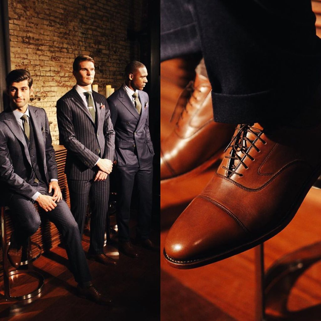 Johnston & Murphy - bespoke footwear design