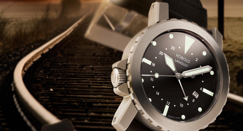 Kobold Langley – gmt watch