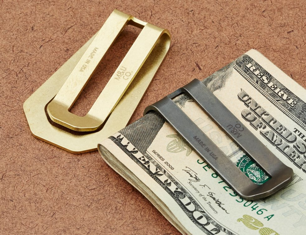 Maxx & Unicorn Co. Brass Money Clip