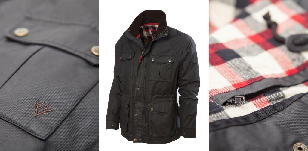 Men's Wax Jacket - Vedoneire