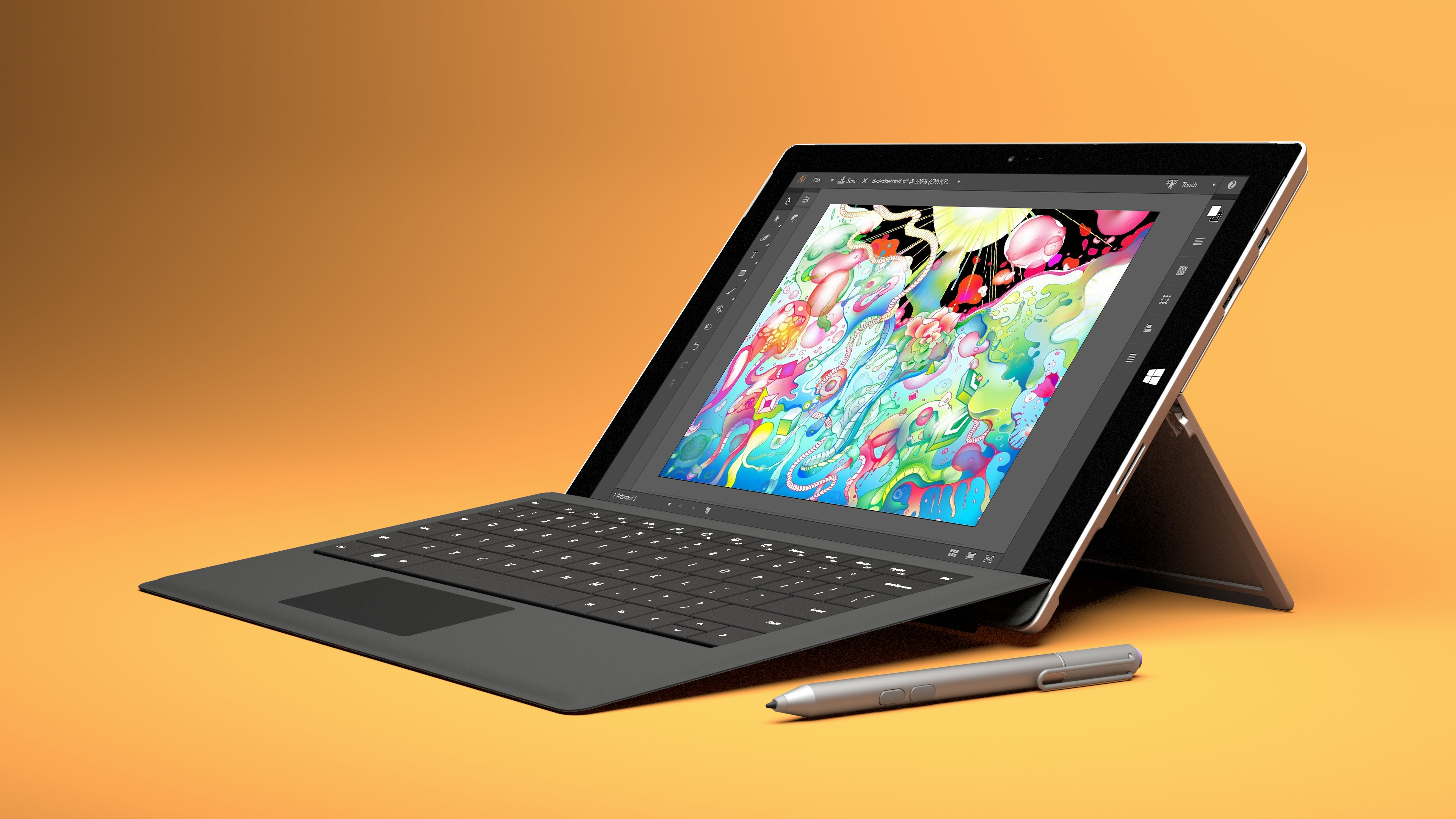 Microsoft Surface Pro 4 – lightweight laptops