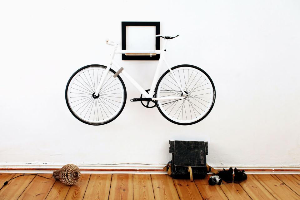 Mikili SLÎT - indoor bike rack