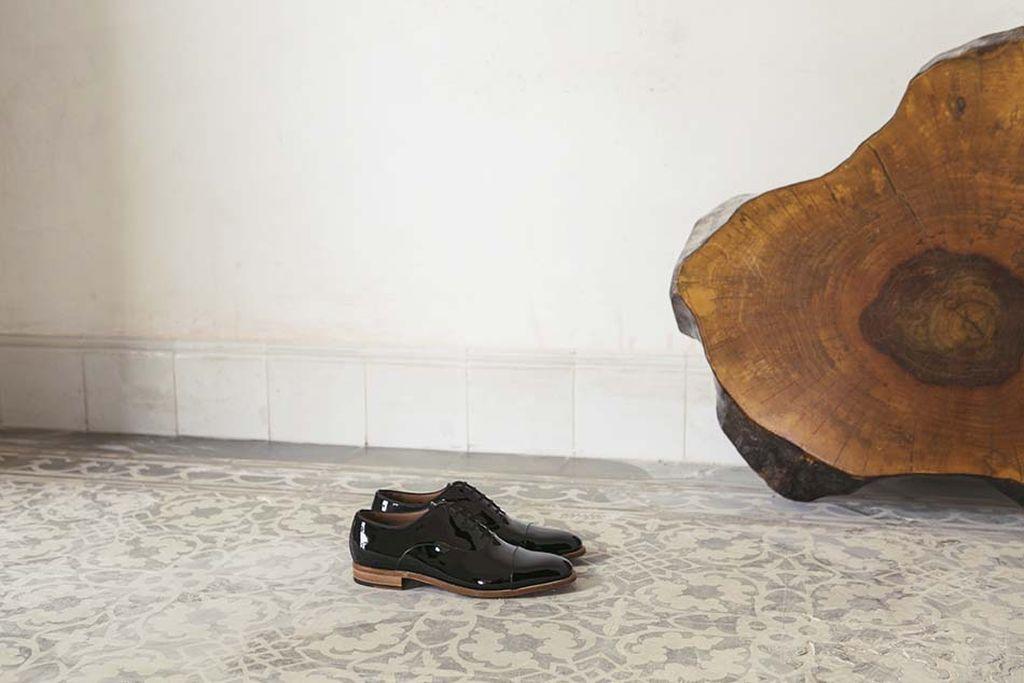 Monge – bespoke shiny leather shoes