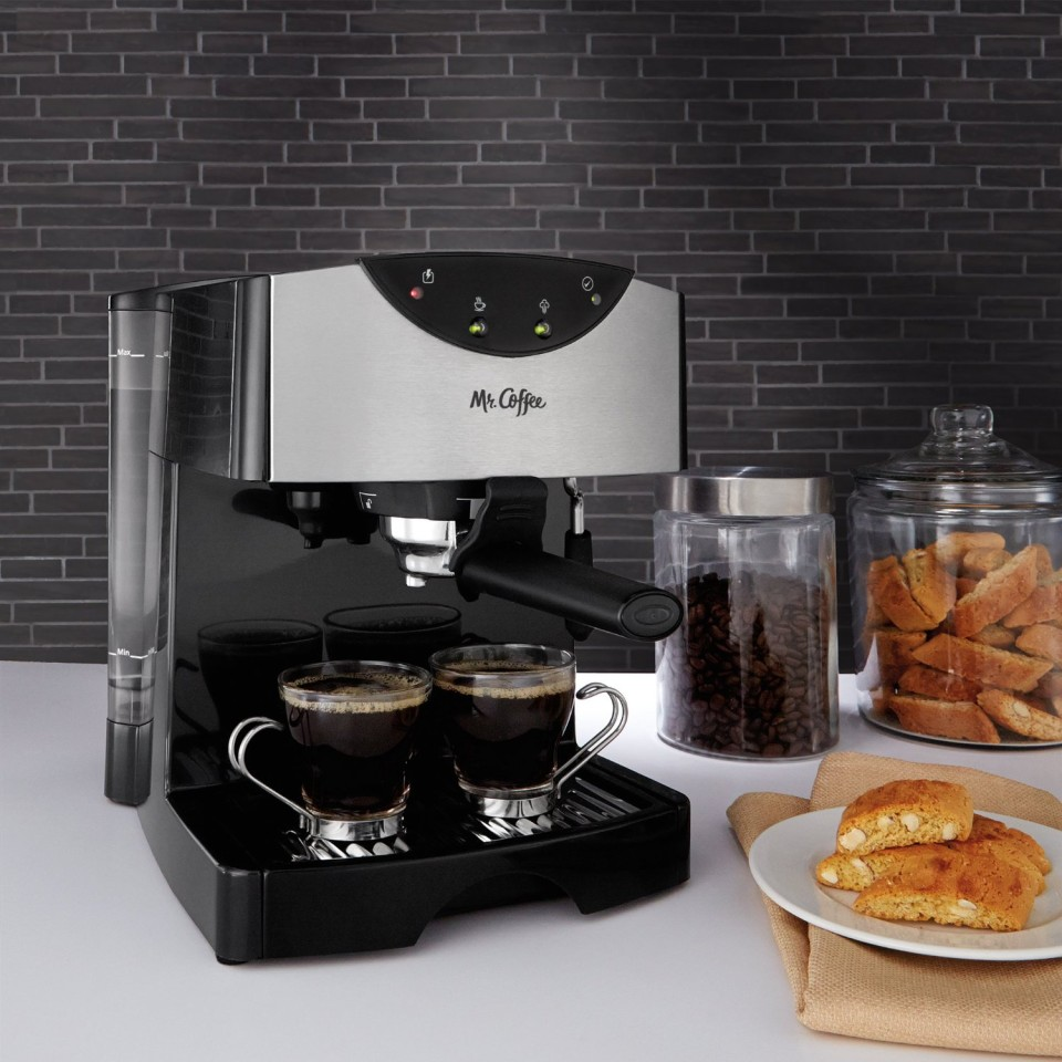 Mr. Coffee ECMP50 - espresso machine
