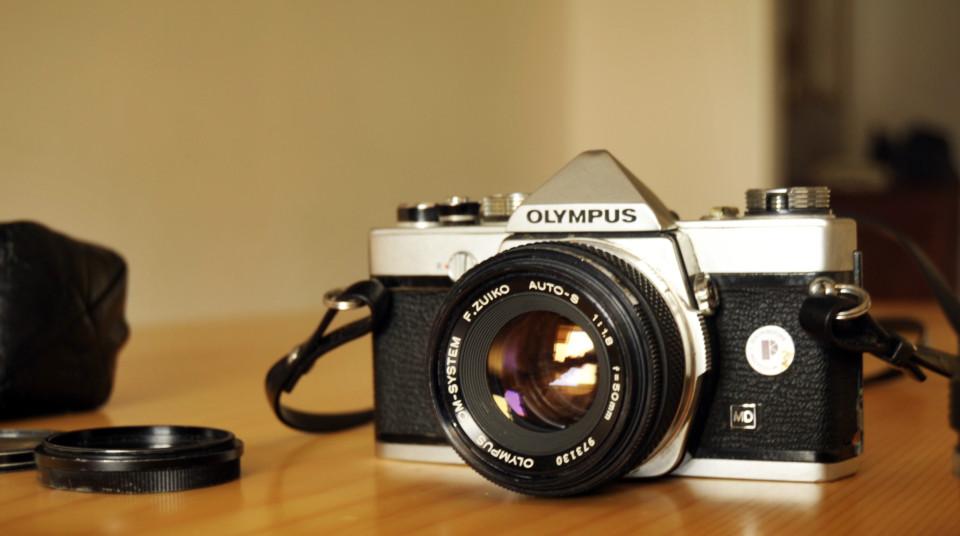 Olympus OM-1 - vintage camera