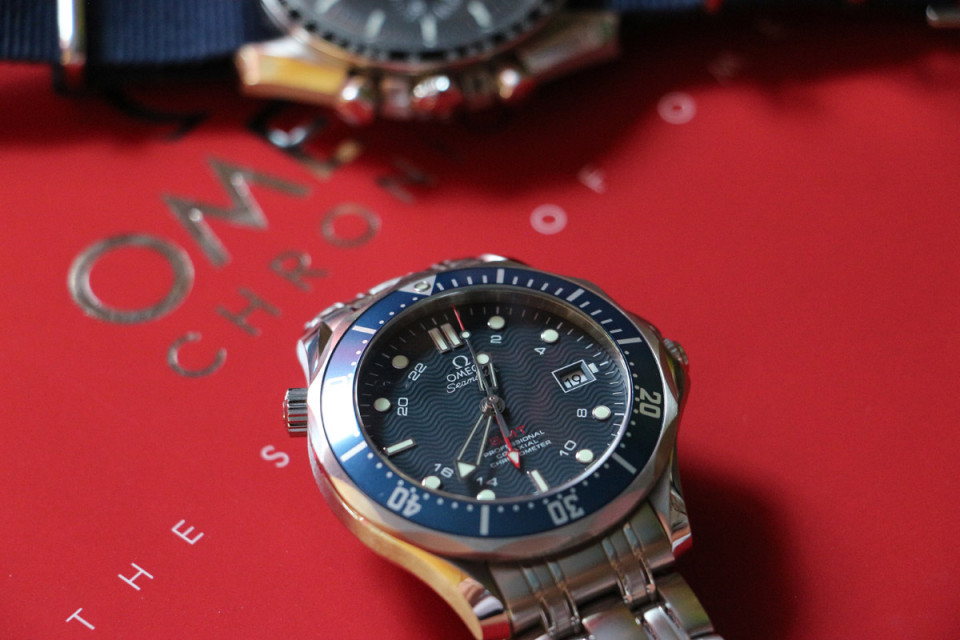 Omega Diver 300 M - gmt watch