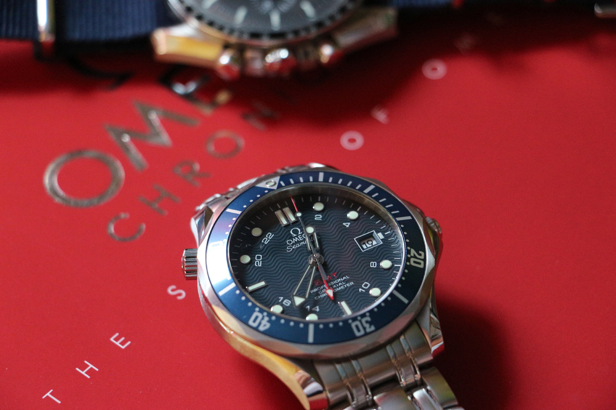 Omega Diver 300 M – gmt watch