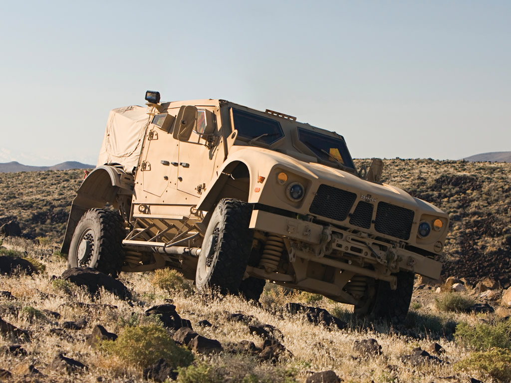 Oshkosh Defense S-ATV – survival vehicle