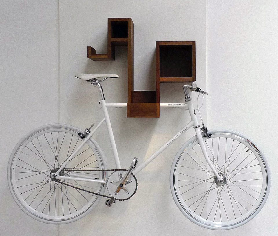 View In Gallery Pedal Pod Indoor Bike Rack
