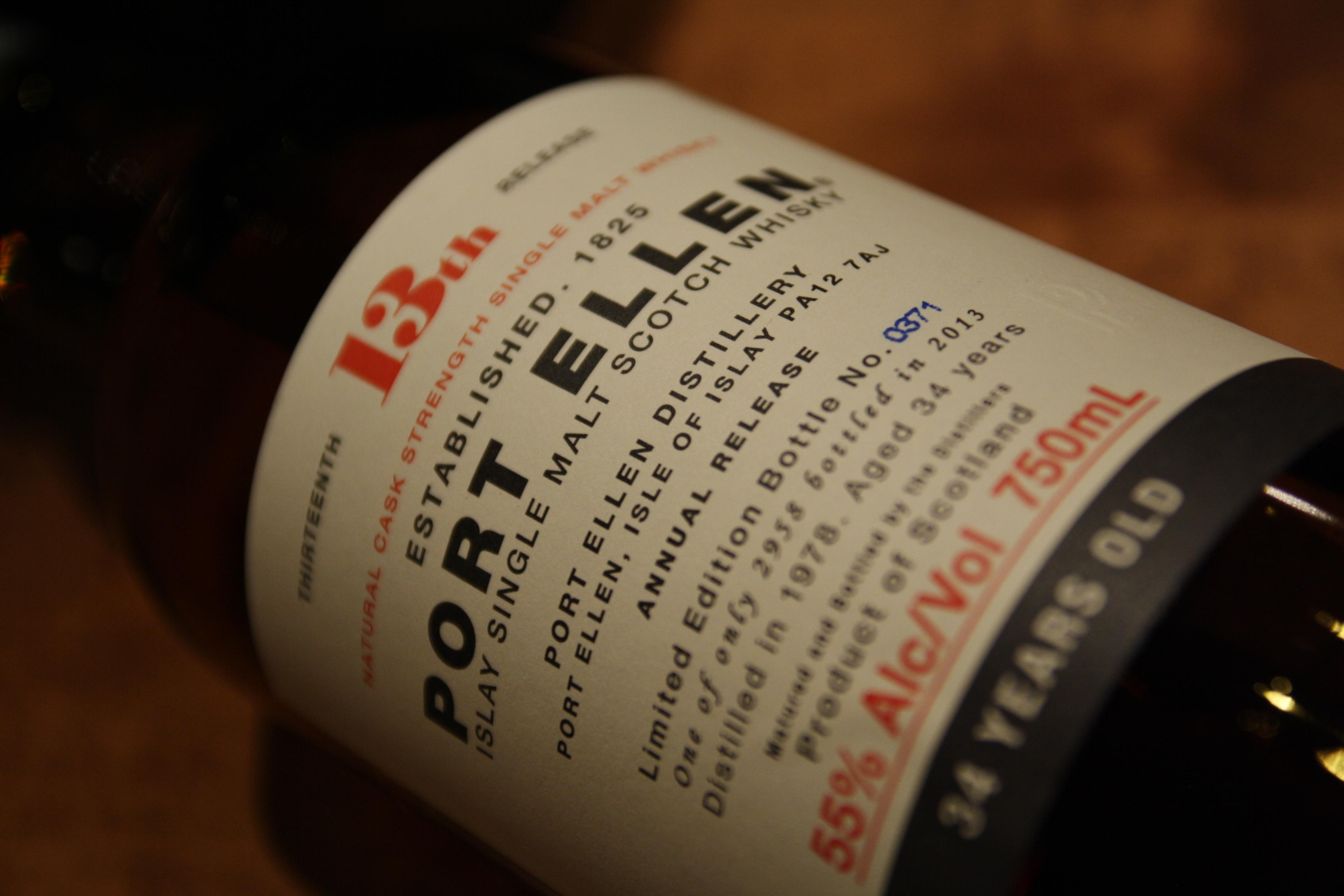 Port Ellen 32 year old – single malt scotch