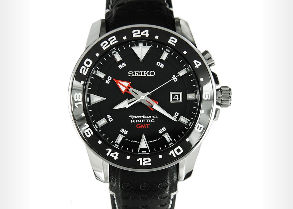Seiko Kinetic GMT