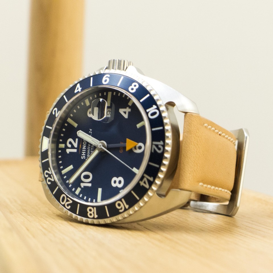 Shinola Rambler - gmt watch