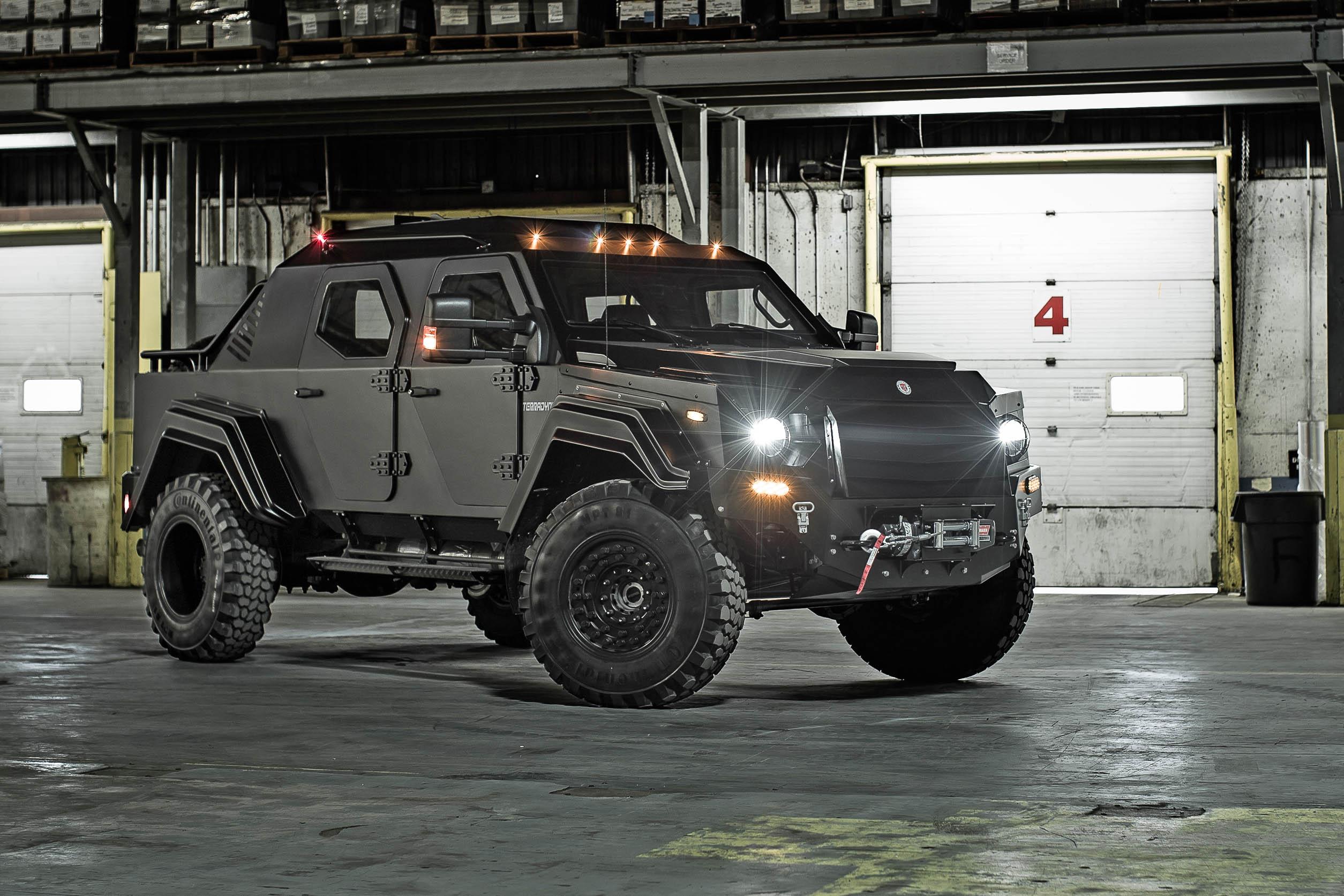Terradyne Gurkha – survival vehicle