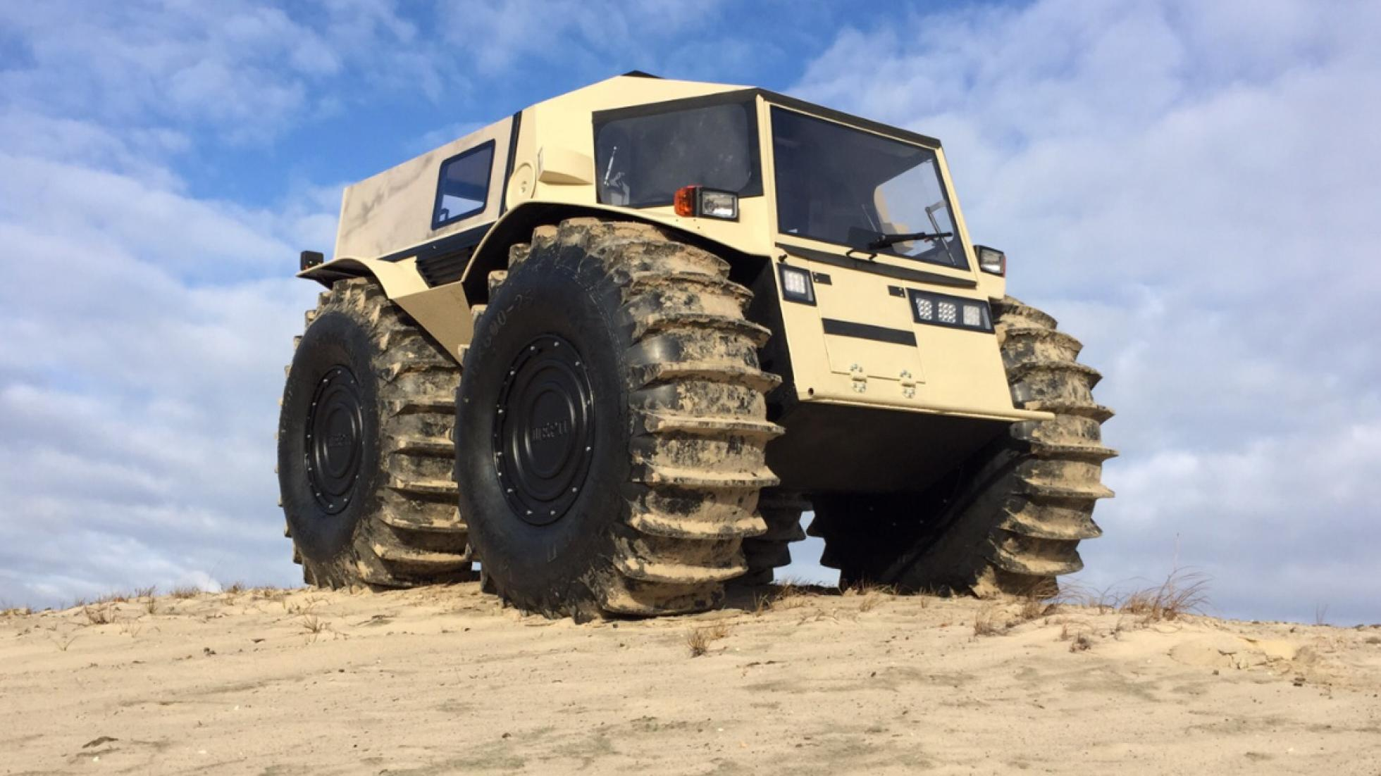 The Sherp – survival vehicle